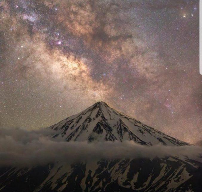 عکس-قله-دماوند-اثر-مجید-قهرودی