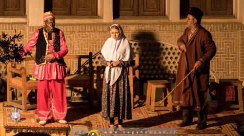 عروسی ننه غلام حسین